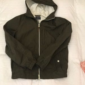 JCREW MENS RAIN JACKET